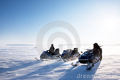 Snowmobile Winter