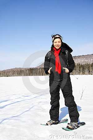 Snowshoeing in Quebec