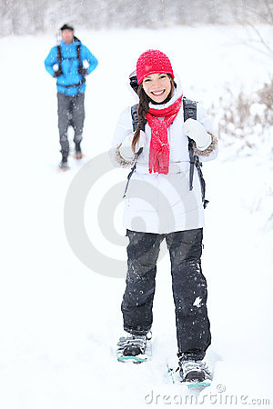 Snowshoeing Winterwandern