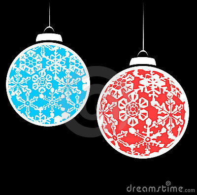 Snowstorm Christmas Ornaments #2