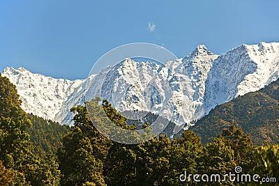 Snowy Himalayan range
