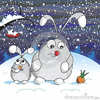 Free Snowy Night Royalty Free Stock Photo - 49158725