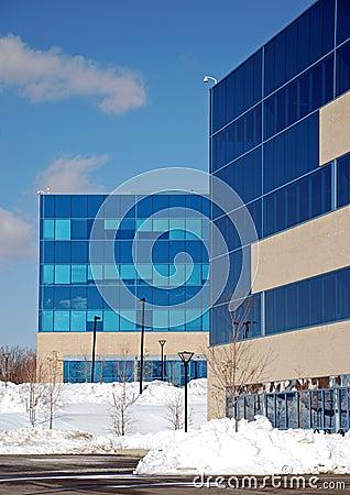 Snowy Office Park