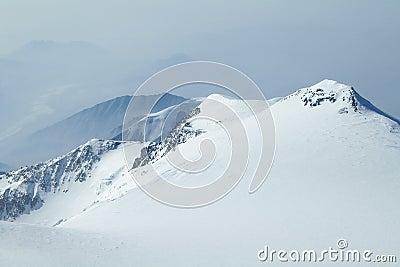Snowy Peaks in Denali  Wilderness Preserve