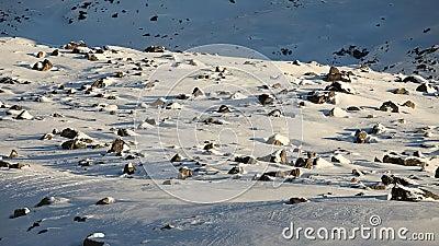 Snowy plateau