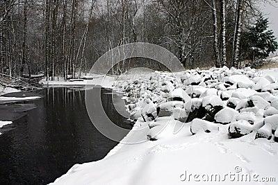 Snowy river.