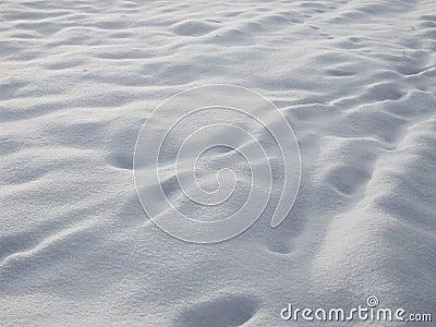 Snowy texture