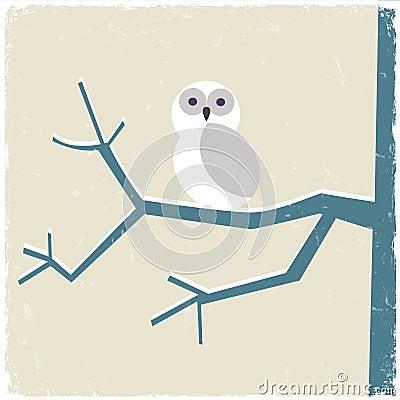 Free Snowy White Owl Royalty Free Stock Photo - 27705325