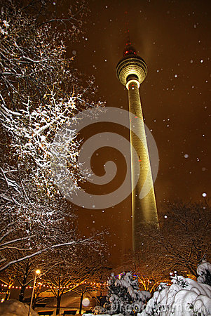 Free Snowy Winter In Berlin, Germany Royalty Free Stock Image - 49924966