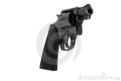Snub nosed 38 revolver