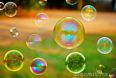 Soap Autumn bubbles