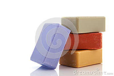 Soap bars from France