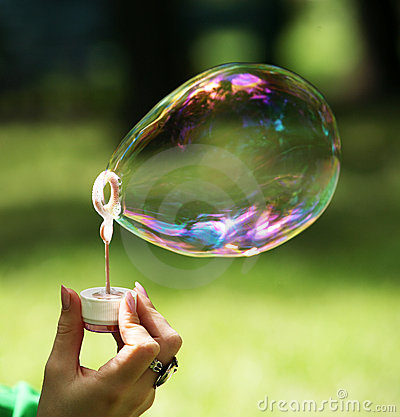 Free Soap Bubble Royalty Free Stock Image - 17375956