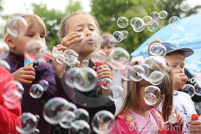 Soap bubbles Editorial Image