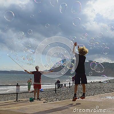 Free Soap Bubbles Royalty Free Stock Photo - 74999935