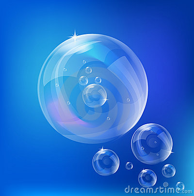 Soap Bubbles - vector