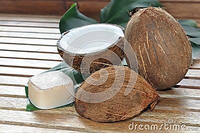 Soap coconut
