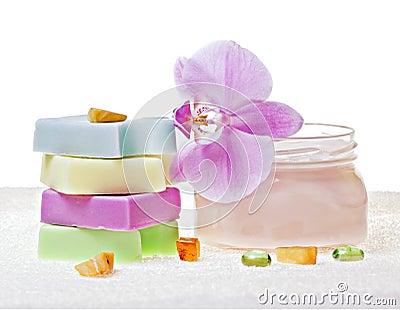 Soap and cream