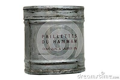 Soap flakes hamam