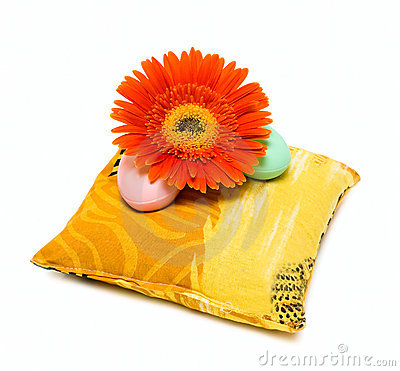 Soap and flower