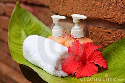 Soap and hibiscus