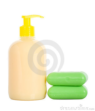 Soap liquid and toilet