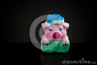 Soap little pig 2019 Stock Photo