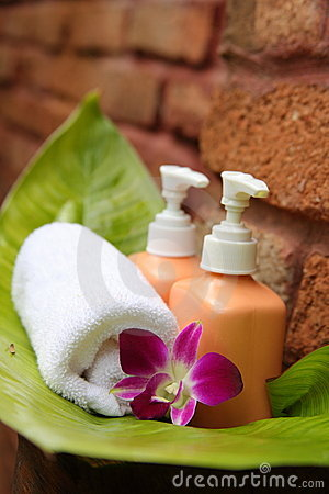 Soap and orchid