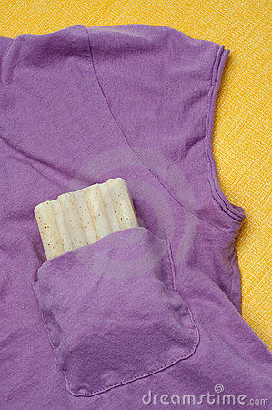 Soap in a Shirt Pocket