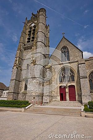 Sober church entrance