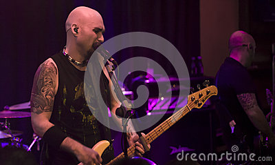 Sober Rock in Badajoz 2 Editorial Photography