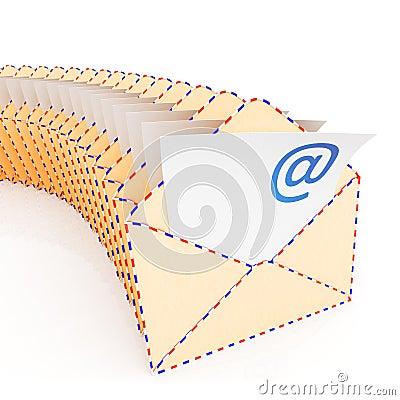 Sobres del email