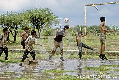 Soccer Editorial Stock Photo