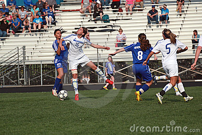 Soccer Action Editorial Photography