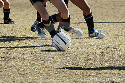 Soccer action 2