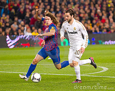Soccer action Editorial Image