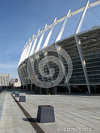 Soccer arena in Kiev