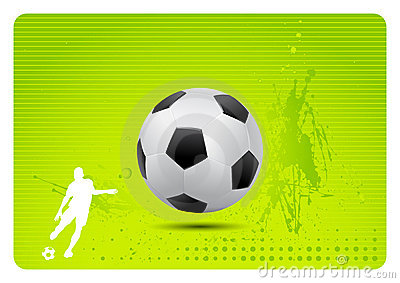 Soccer background (vector)