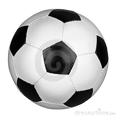 Free Soccer Ball. Royalty Free Stock Image - 13717626
