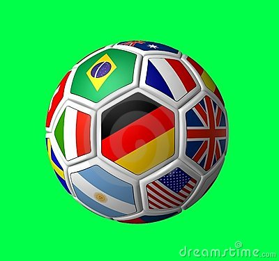 Free Soccer Ball 2006 Royalty Free Stock Photos - 828998