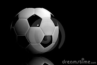 Soccer ball - 3d render
