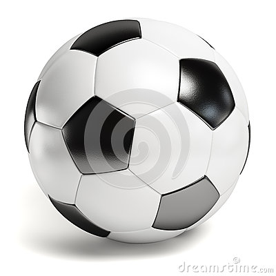 Free Soccer Ball Royalty Free Stock Photo - 43233565
