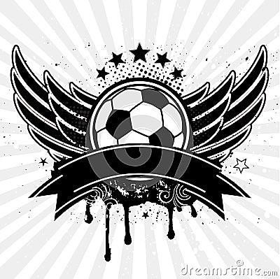 soccer ball ang wing