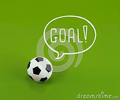 Soccer ball dream