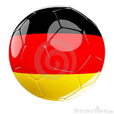 Soccer ball of germany