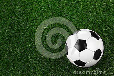 Soccer ball on grass II