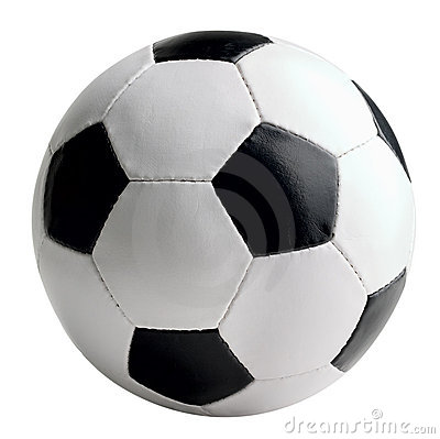 Free Soccer-ball Isolated Royalty Free Stock Photography - 10435767