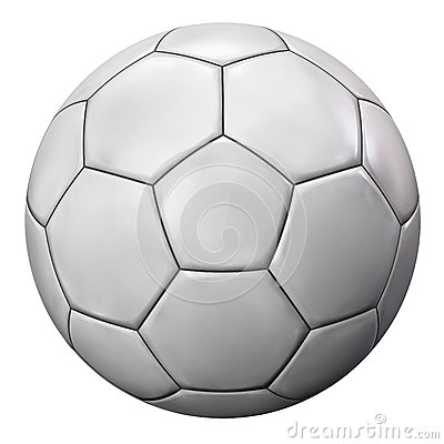 Free Soccer Ball Isolated On White Royalty Free Stock Photo - 80380985
