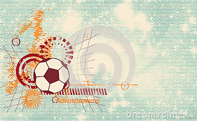 Soccer ball modern template