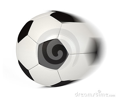 Soccer Ball in Motion
